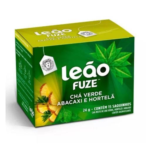 Cha Mate Leao Verde C/abacaxi e Hortela C/15 Saquinhos