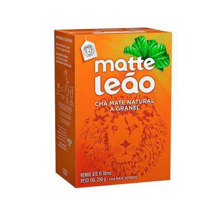 Chá Matte Natural a Granel 250g Leão Leão