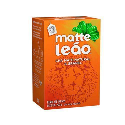 Chá Matte Natural a Granel 250g Leão
