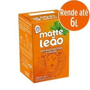 Chá Natural Matte Leão 100g com 10 Unidades