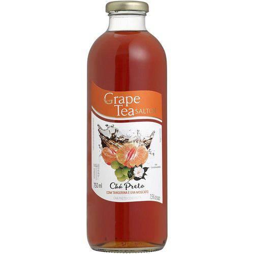 Chá Preto com Tangerina e Uva Moscato Grape Tea Salton 750ml