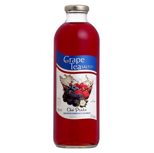 Cha Pronto Salton 750ml Preto Grape Tea Frutas Vermelhas