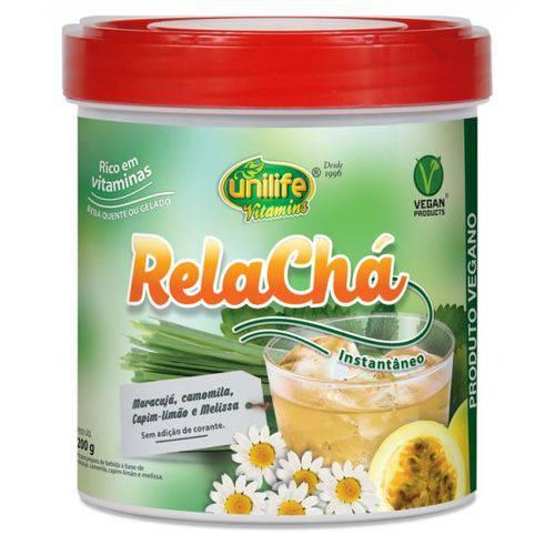 Cha Vegano Calmante de Maracuja Rela Cha 200gr Unilife