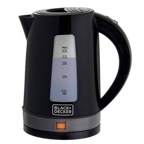 Chaleira Elétrica Black + Decker KXB, 2 Litros, Preta