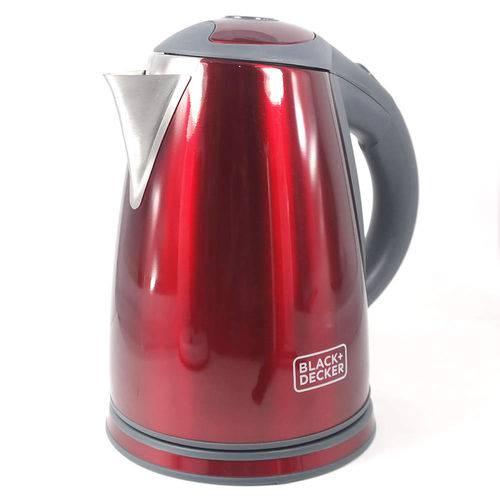 Chaleira Elétrica Black+Decker KXV 1250W Vermelha - 110V