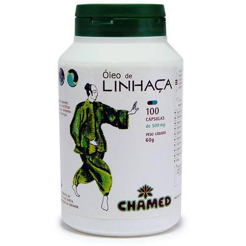Chamel - Cápsulas Óleo de Linhaca 500mg 100 Caps 70g
