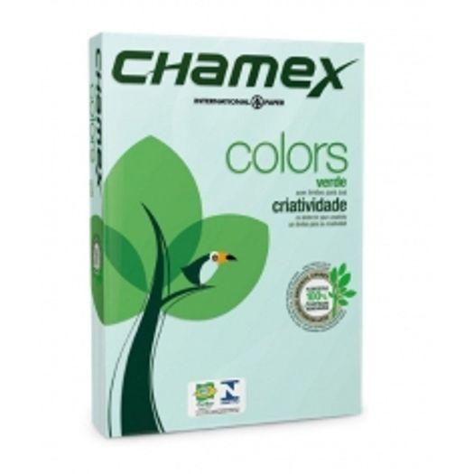 Chamex Color 21x29,7cm 75gr A4 Verde 500 Folhas