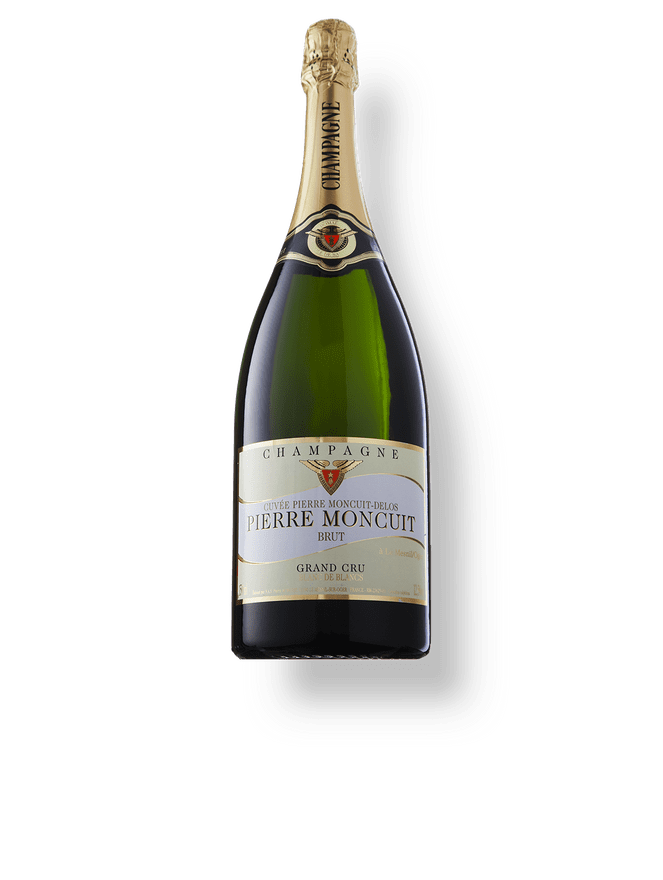 Champagne Pierre Moncuit Blanc de Blancs Cuvée Hugues de Coulmet Brut (1500ml)
