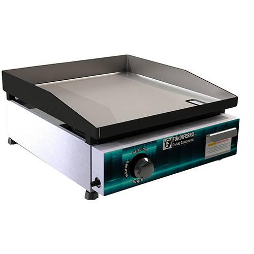 Chapa para Lanche Classic 450 à Gás Inox - Fundiferro Gastronomia