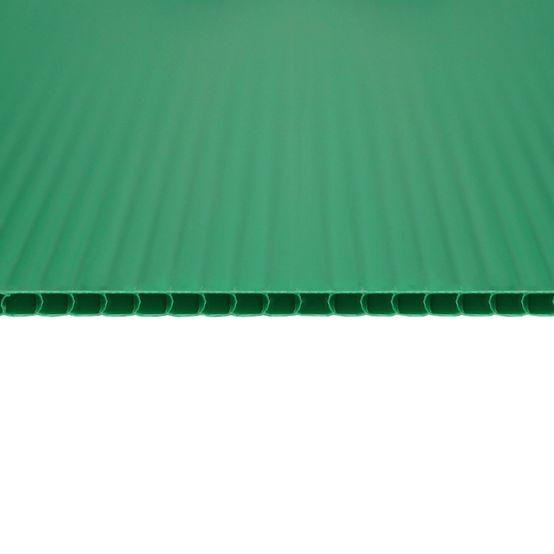 Chapa Plastionda/Polionda Verde 3mmx1300mmx2000mm