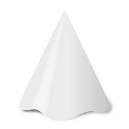 Chapéu Branco - 08 Unidades