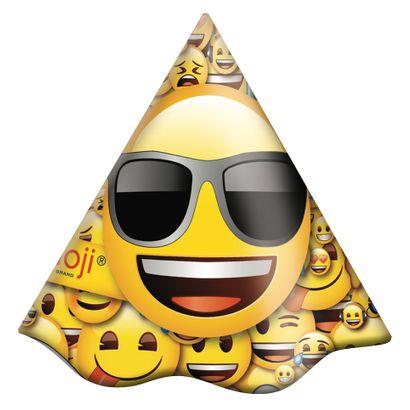 Chapéu de Aniversário Emoji 8un Festcolor