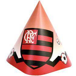 Chapéu de Aniversário Flamengo - 8 Unidades - Yonifest