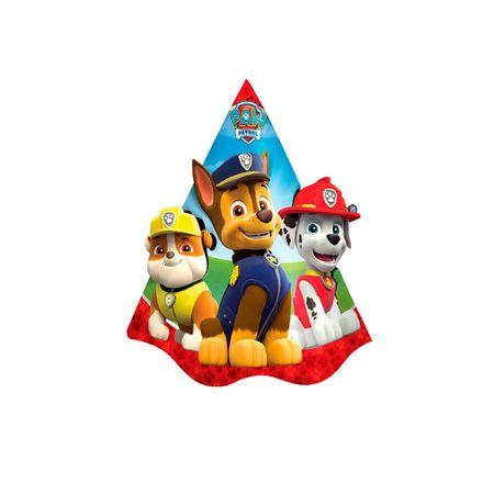 Chapéu de Aniversário Patrulha Canina - 08 Unidades
