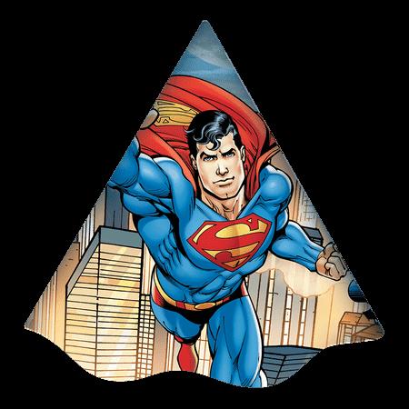 Chapéu de Aniversário Super Homem - 08 Unidades
