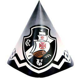 Chapéu de Aniversário Vasco - 8 Unidades - Yonifest
