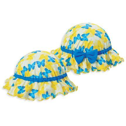 Chapéu em Lycra Butterflies - Dedeka
