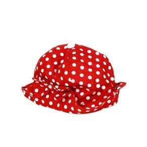 Chapéu Infantil para Menina - Vermelho G