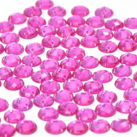 Chaton Redondo 10 Mm - 100 Unidades 008 Pink