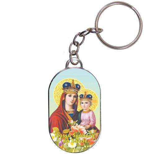 Chaveiro Chapinha - Nossa Senhora da Saúde | SJO Artigos Religiosos