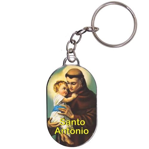 Chaveiro Chapinha - Santo Antônio - Mod. 04 | SJO Artigos Religiosos