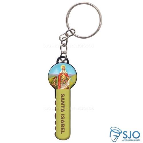 Chaveiro Chave Santa Isabel | SJO Artigos Religiosos