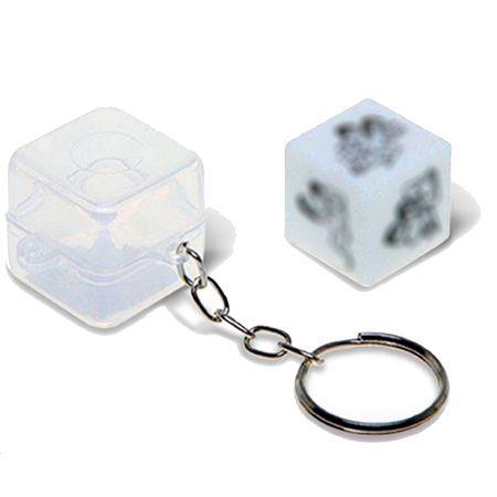 Chaveiro Posições Hétero Diversão ao Cubo Chaveiro Posições Hétero - Diversão ao Cubo Unica C/1