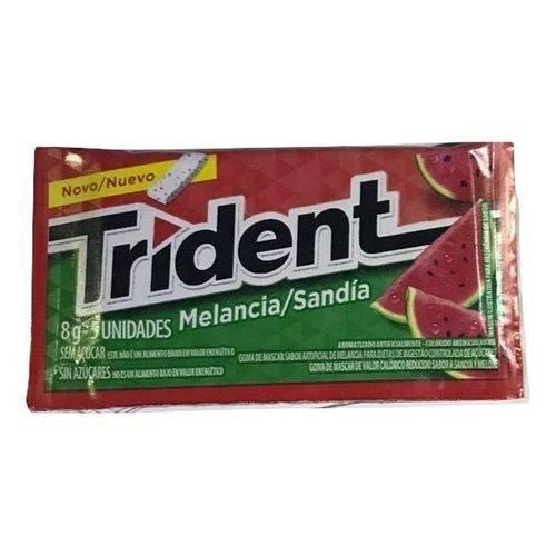 Chiclete Trident Melancia 8gr C/21 -Adams