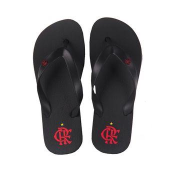 Chinelo Flamengo Basic Preto/Preto 34