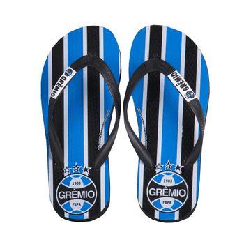 Chinelo Grêmio Azul/Branco/Preto 27/28