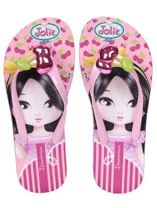 Chinelo Infantil Jolie para Menina - Rosa