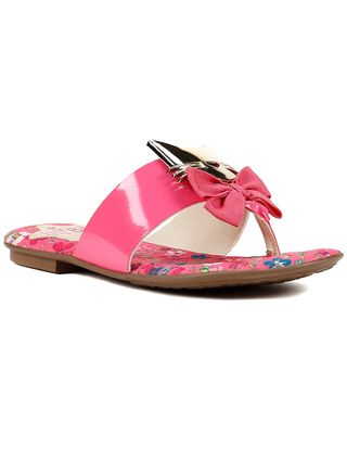 Chinelo Infantil para Menina - Rosa Pink