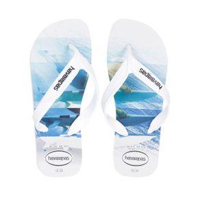 Chinelo Masculino Havaianas Surf Branco/azul 41/42