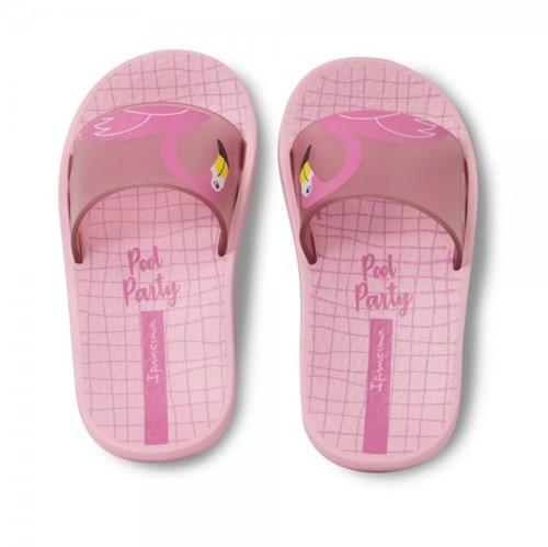 Chinelo Slide Ipanema Menina Flamingo