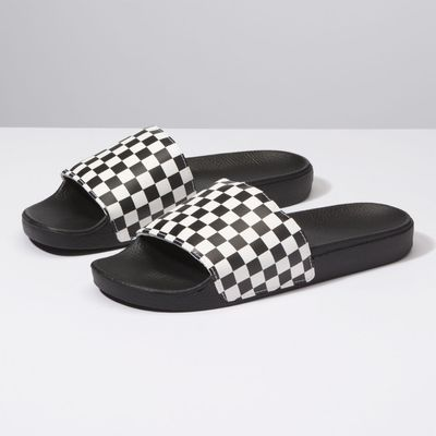 Chinelo Slide-On Checkerboard - 38