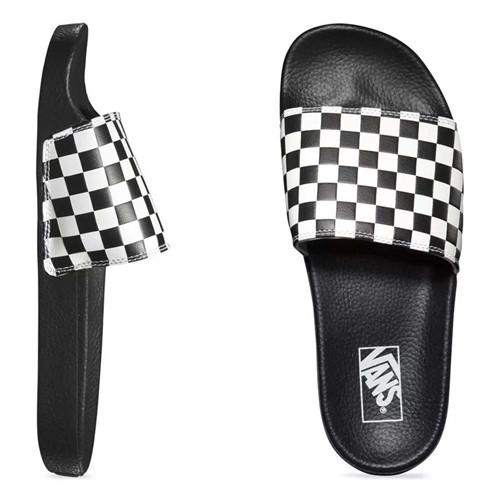 Chinelo Vans Slide-On Checkerboard Black / White VNB004KIIP9 39