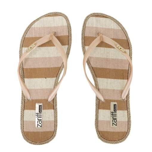 Chinelo Zariff Shoes Casual Listras 02824 | Betisa