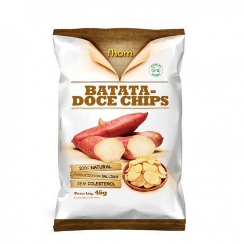 Chips Batata Doce 45gr Fhom