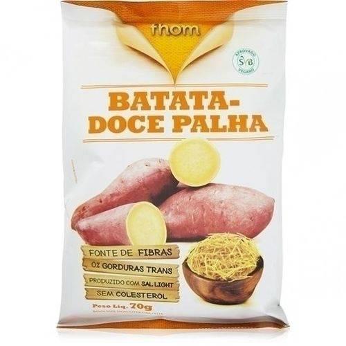 Chips de Batata Doce Palha 70g - Fhom