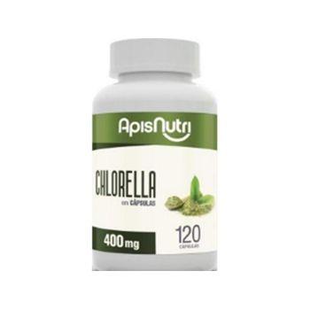Chlorella Apisnutri 400mg 120 Cápsulas