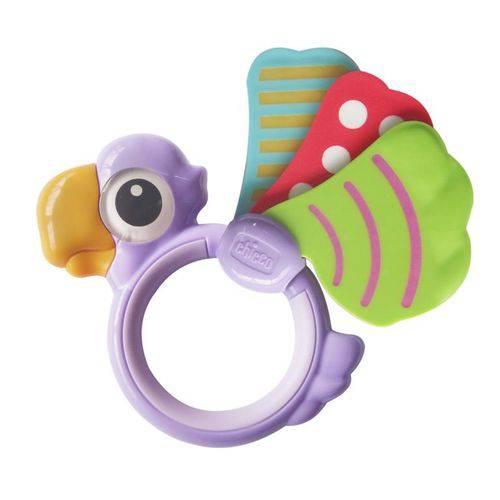 Chocalho Chicco Papagaio Baby Senses BPA Free (3M+)
