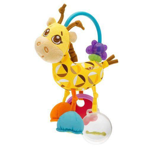 Chocalho de Atividades Girafa Chicco