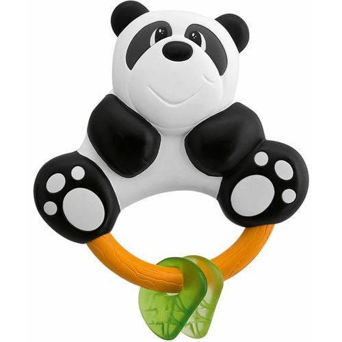 Chocalho Mordedor Urso Panda Chicco 3 Meses