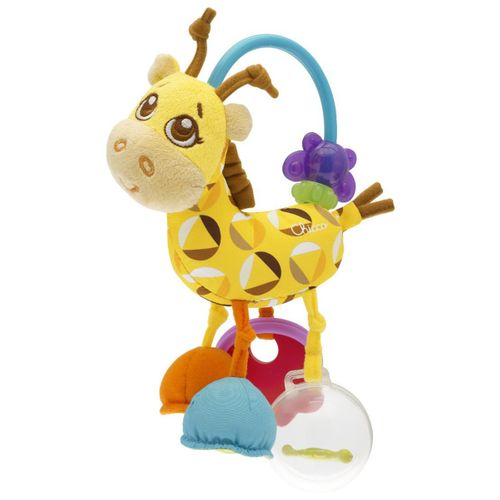 Chocalho para Bebê 4ever Friends Sra. Girafa (3m+) - Chicco