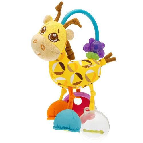 Chocalho Sra.Girafa - Chicco Bbaby Senses 3m