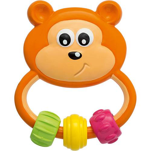Chocalho Urso Chicco Colorido