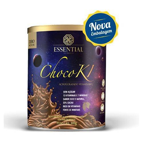 Chocoki Achocolatado Vitaminado 300g Essential Nutrition