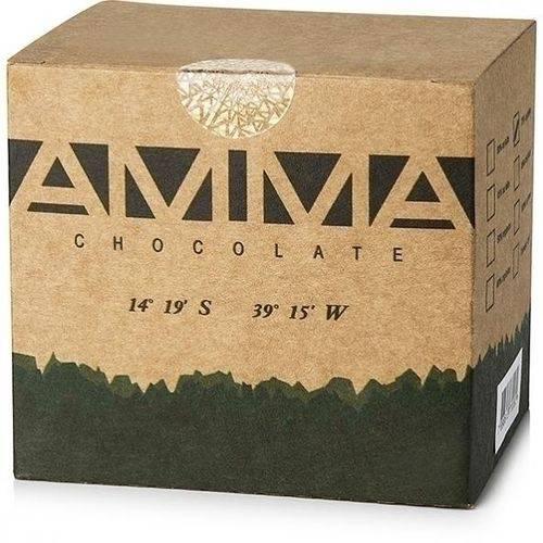 Chocolate Orgânico 75% 3g X 50 - Amma Chocolate