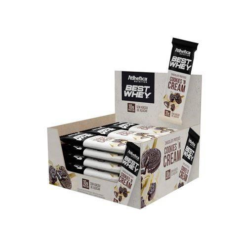 Chocolate Proteico Best Whey 12un - Cookies 'N Cream