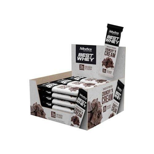 Chocolate Proteico Best Whey 12un - Crunchy 'N Cream